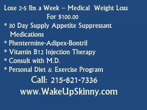 Philadelphia Medical Weight Loss Program